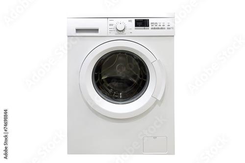 Fotografie, Obraz  washing machine isolated on a white background