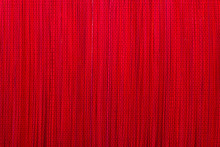 Red Bamboo Mat Texture Or Background