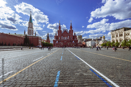 Red Square. Moscow. Canvas Print