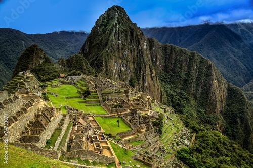 Au sommet du Machu Picchu