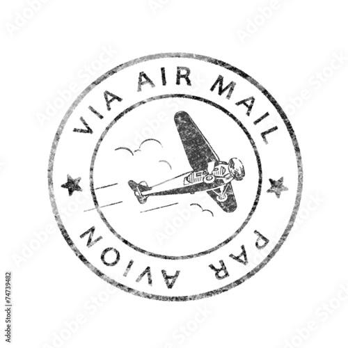 Fotografía  Alterar el correo aéreo poststempel