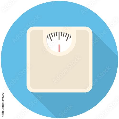 Fotografia Bathroom scale icon