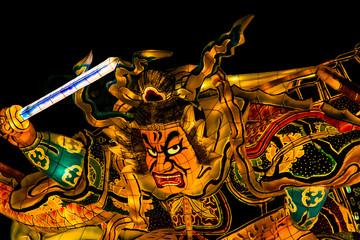 Nebuta, the traditional Japanese festival