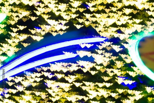 Foto op Plexiglas Texas Defocused bokeh lights for backgrounds