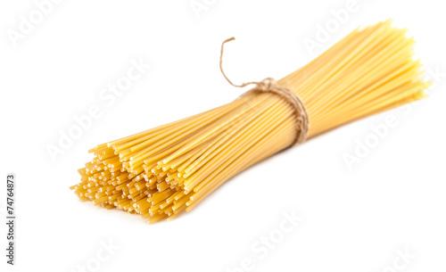 Fotografía  sheaf raw spaghetti