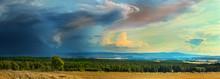 Panorama Of  Dark Storm Coming...