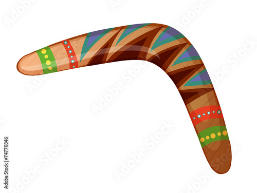Photo  A boomerang