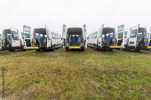 Fotografie, Obraz  Minibus physically disabled