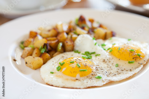 Poster Ouf Fried Eggs