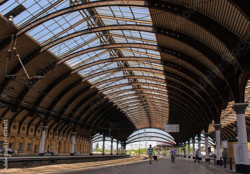 Canvas Prints Antwerp train station in York, UK