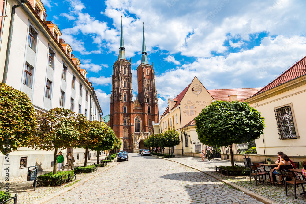 Fototapeta Cathedral St. John in Wroclaw