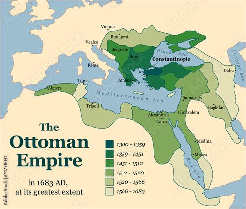 Ottoman Empire Acquisitions Canvas-taulu