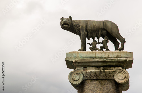 Fotografia, Obraz  Lupa capitolina - Roma