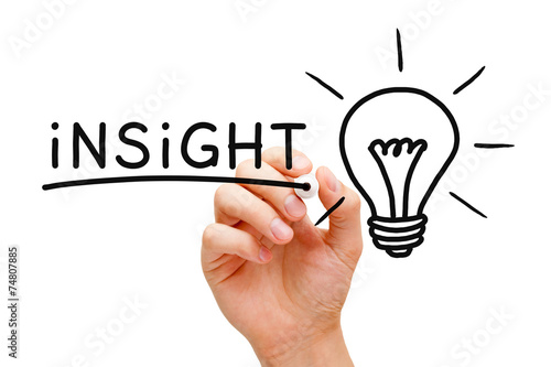 Insight Light Bulb Concept Wallpaper Mural