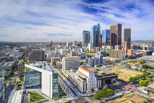 Staande foto Los Angeles Los Angeles, California, USA Downtown