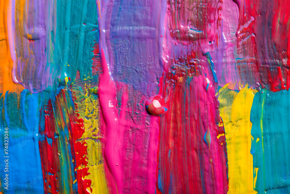 Fototapety, obrazy: Abstract art background. Hand-painted background