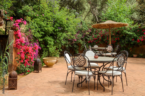 Patio Marocain 1 Buy This Stock Photo And Explore Similar Images