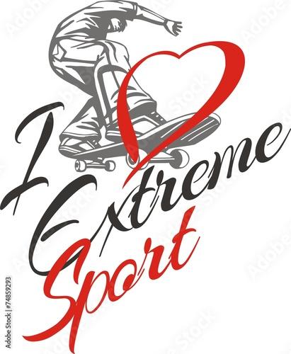 uwielbiam-sport-ekstremalny-skateboarder-i-serca