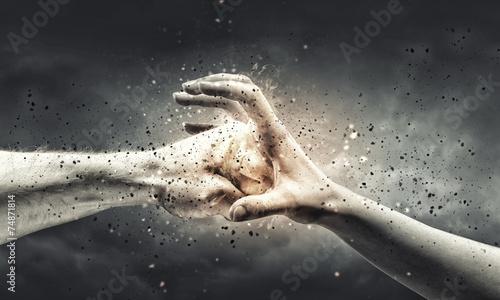 Fotografie, Obraz Stop the violence