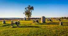 Cannons And Monuments In Getty...