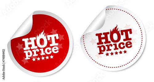 Fotografía  Hot price stickers