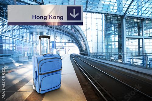 Photo  Departure for Hong Kong, China