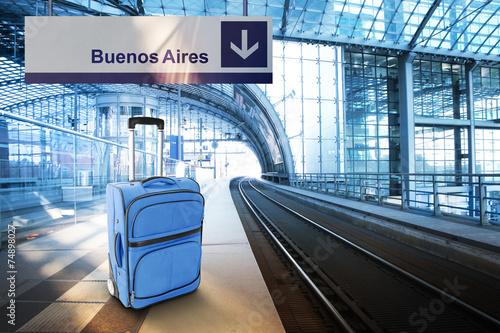 Keuken foto achterwand Buenos Aires Departure for Buenos Aires, Argentina