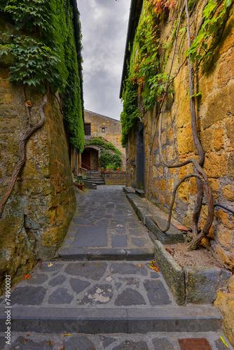 Fototapeta Toscania, Włochy, Bagnoregio obraz