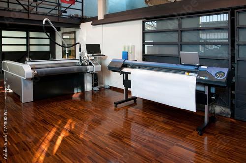 Fotografía  La impresión digital - impresora de gran formato