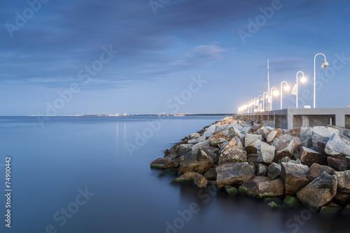 The Baltic Sea shore