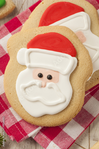 Homemade Christmas Sugar Cookies Buy This Stock Photo And Explore
