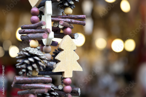 Foto op Plexiglas Kerstmis Decoration Christmas Market