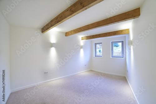 Valokuva  Interior View Of Beautiful Luxury Empty Bedroom