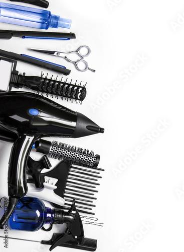 Obraz na plátně  Hairdressing tools
