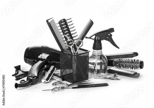 Fotografie, Obraz  Hairdressing tools