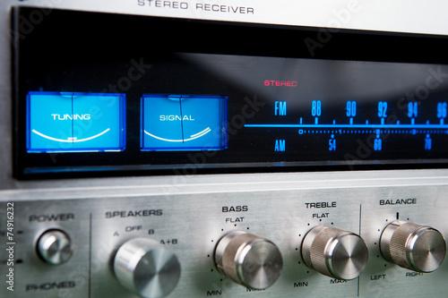 Fotografía  Stereo receiver