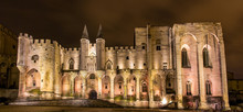 Palais Des Papes In Avignon, A...