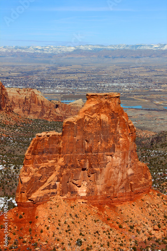 Foto op Canvas Australië Independence Monument in Colorado