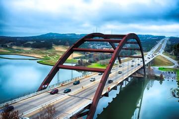 Pennybacker Bridge, Austin,...