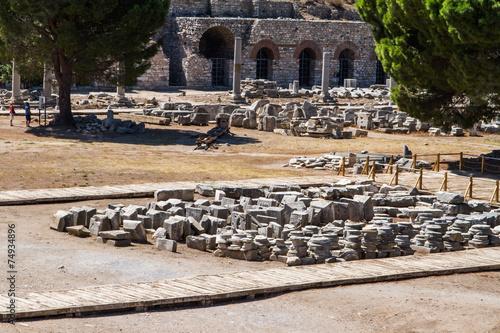 Foto op Aluminium Rudnes Ancient Ruins of Ephesus