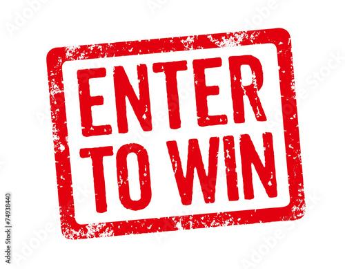 Fotografía  Red Stamp - Enter to win