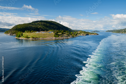 Photo  Landschaft vom Oslofjord