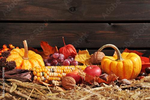 Canvas Prints Autumn Erntedankfest