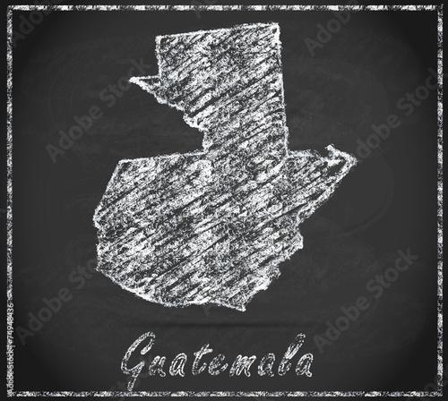Guatemala Karte.Karte Von Guatemala Buy This Stock Illustration And Explore