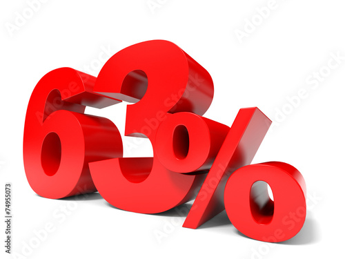 Εκτύπωση καμβά  Red sixty three percent off. Discount 63%.