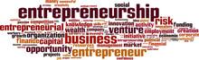 Entrepreneurship Word Cloud Co...