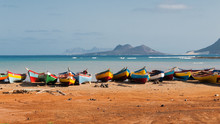Fishing Boats Rest In Mindelo ...