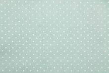 Green Polka Dot Fabric