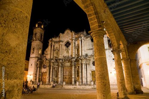 fototapeta na ścianę Katedra, Stary Hawana, Kuba