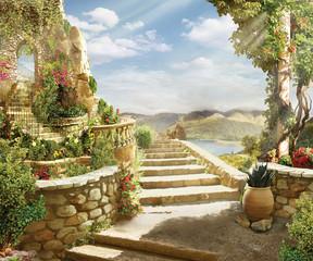 Fototapetastairway to heaven